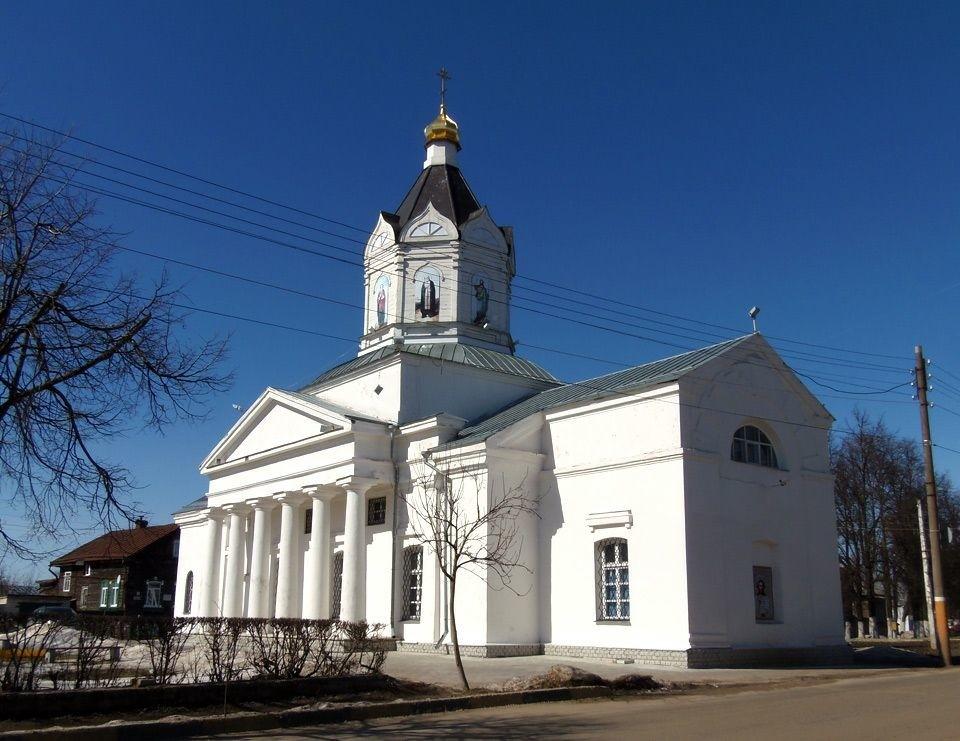 Церковь Казанской Иконы Божией Матери в Арзамасе
