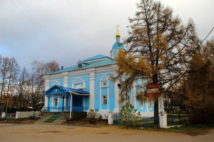 Церковь Иконы Божией Матери Знамение в Арзамасе