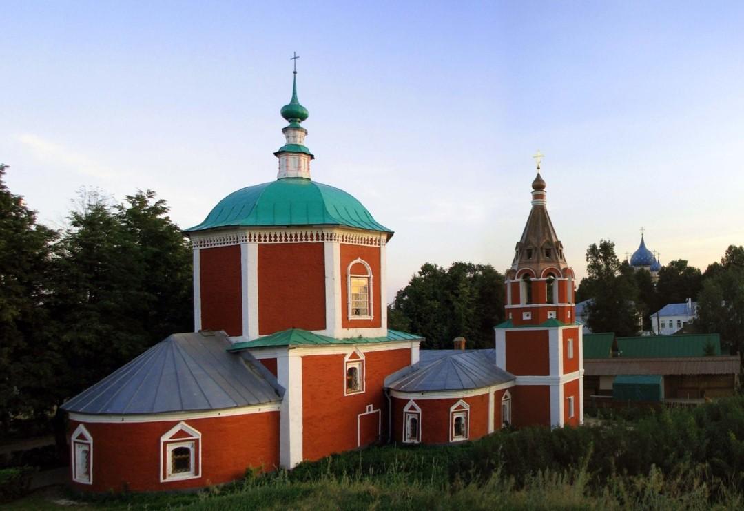 Церковь Успения Пресвятой Богородицы на Княжьем дворе в Суздале