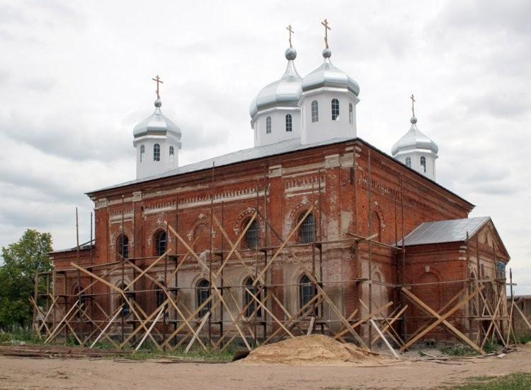 Собор святых апостолов Петра и Павла Свято-Георгиевского Мещовского монастыря