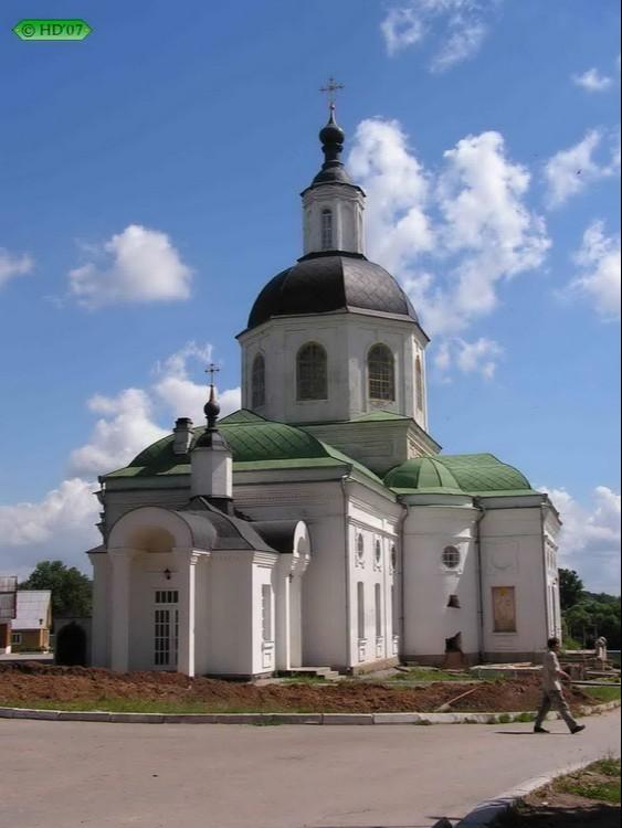 Храм Спаса Нерукотворного пустыни Спаса Нерукотворного в Клыково