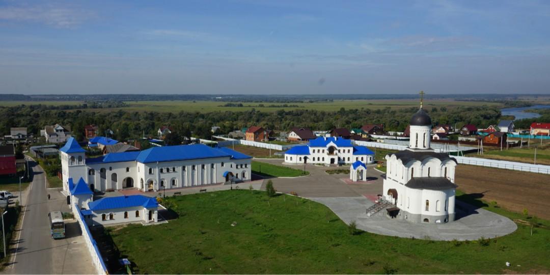 Владимирский скит на реке Угре Калужской Тихоновой пустыни