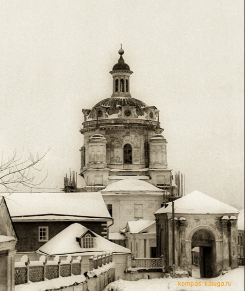 Собор святителя Николая Чудотворца Свято-Никольского Черноостровского монастыря