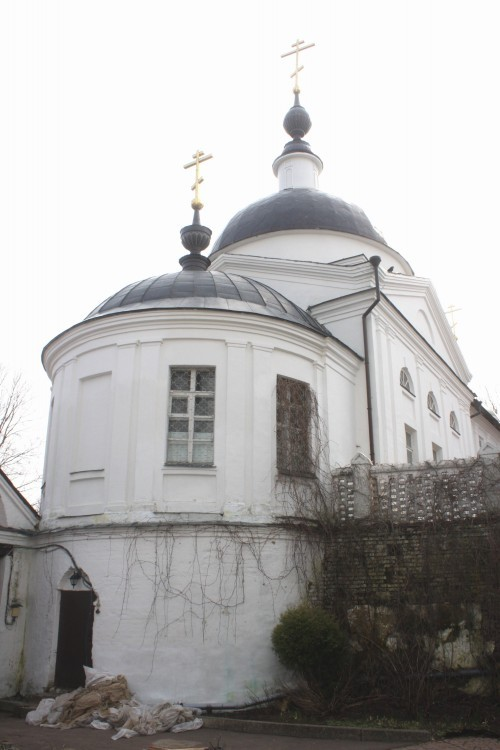 Храм Корсунской Иконы Божией Матери Свято-Никольского Черноостровского монастыря