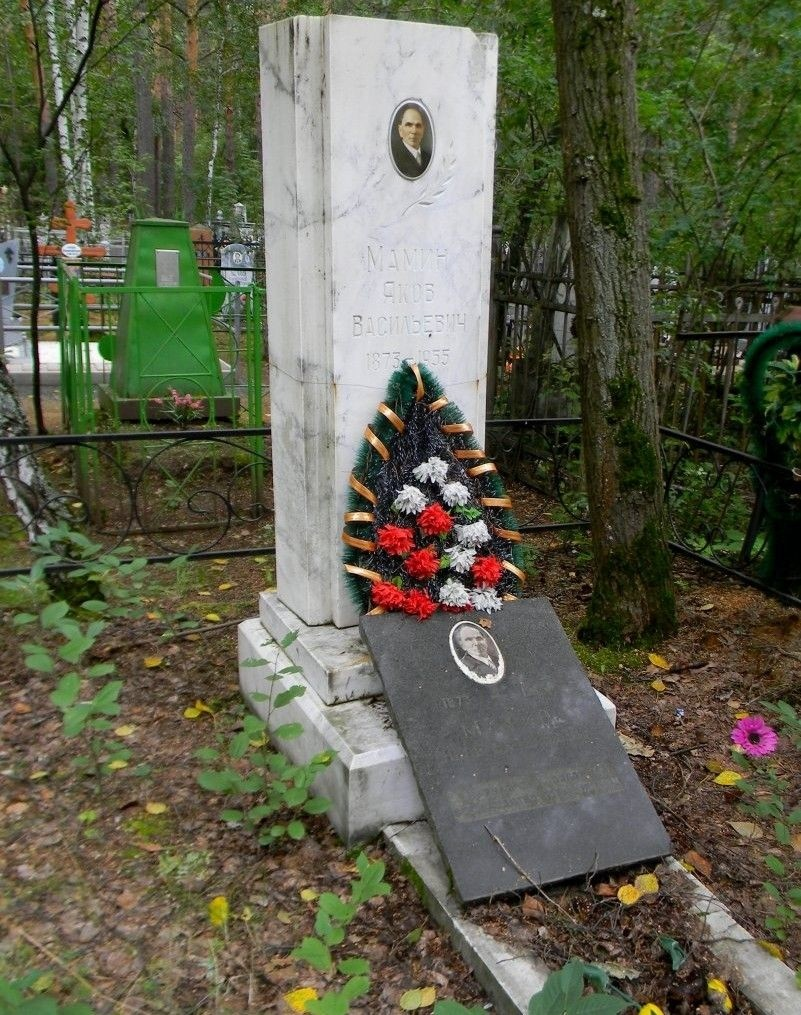 Могила Я.В. Мамина