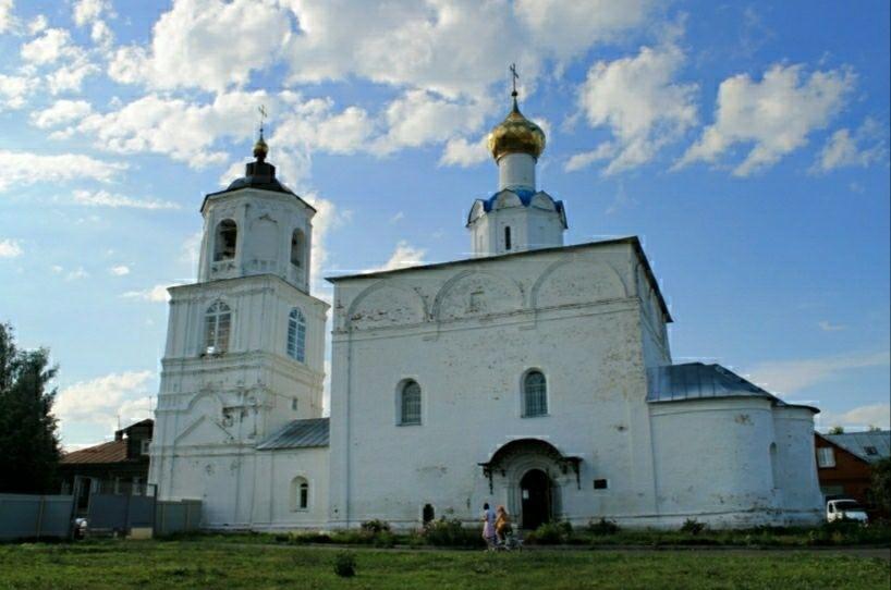 Васильевский собор Свято-Васильевского мужского монастыря в Суздале