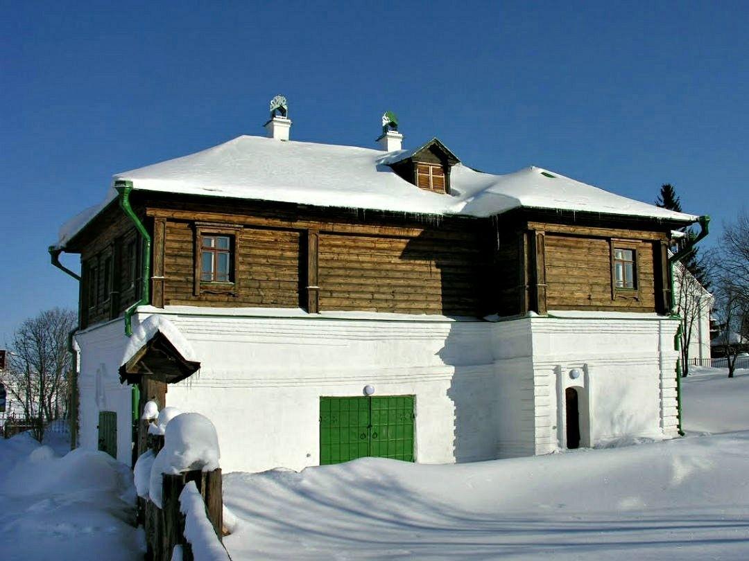 Дом купцов Агаповых в Суздале