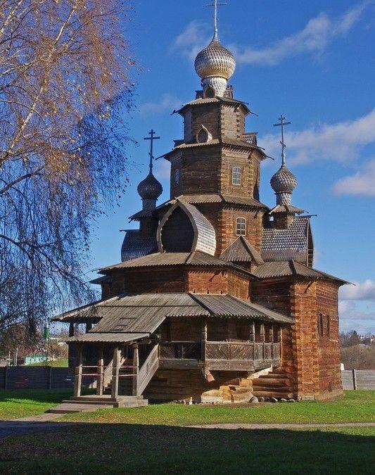 Церковь Преображения Господня из Козлятьево в Суздале