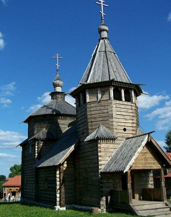 Церковь Воскресения Христова из села Патакино в Суздале