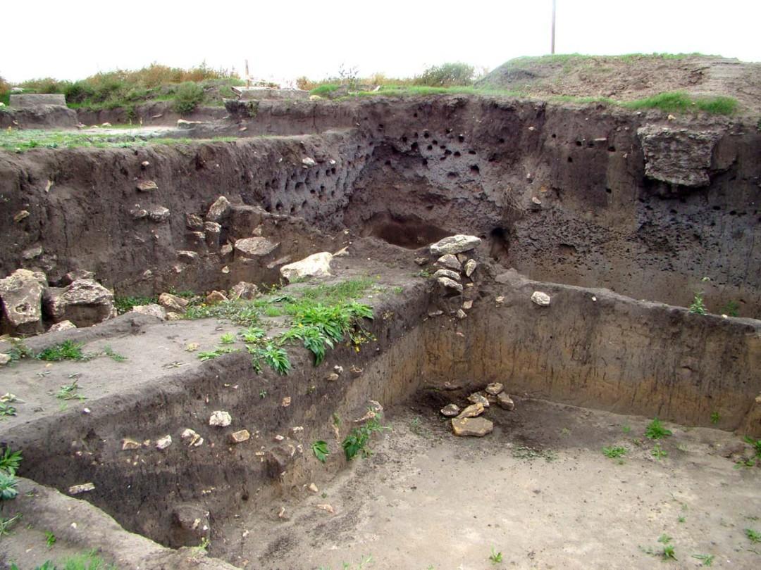 Елизаветское городище VI-II веков до н. э.