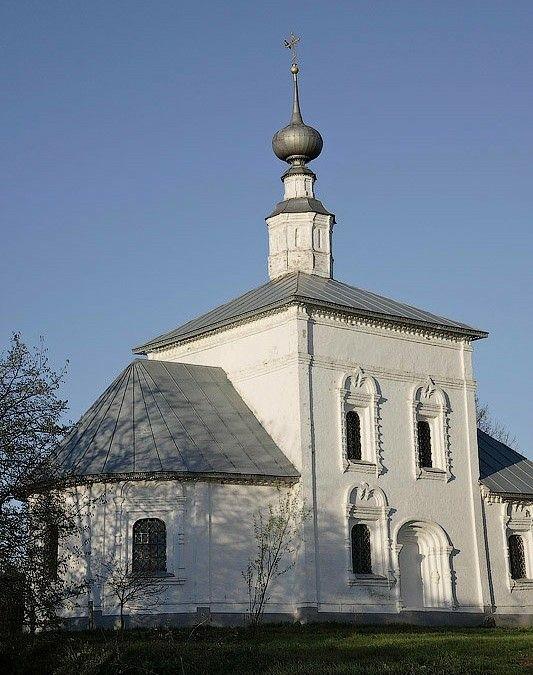 Церковь Знамения на Мжаре в Суздале