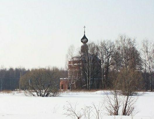 Церковь Николая Чудотворца в Тетерино