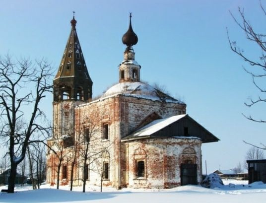 Церковь Николая Чудотворца в селе Большое Борисово