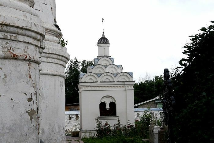 Часовня Аполлония Муромского в Благовещенском мужском монастыре в Муроме