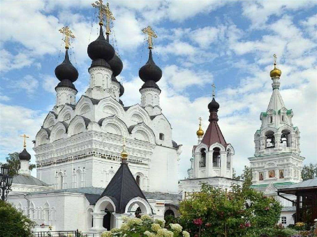 Собор Троицы Живоначальной Свято-Троицкого женского монастыря в Муроме