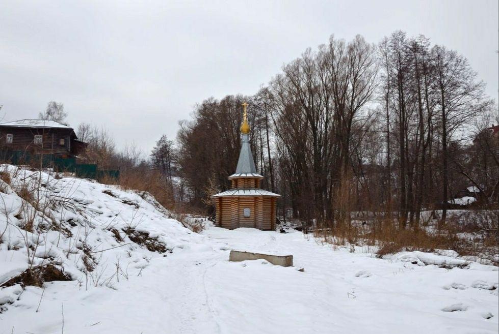 Часовня на Святом источнике Петра и Февронии Муромских в Муроме