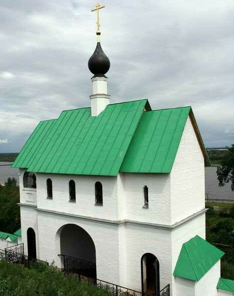 Церковь Сергия Радонежского Спасо-Преображенского мужского монастыря в Муроме