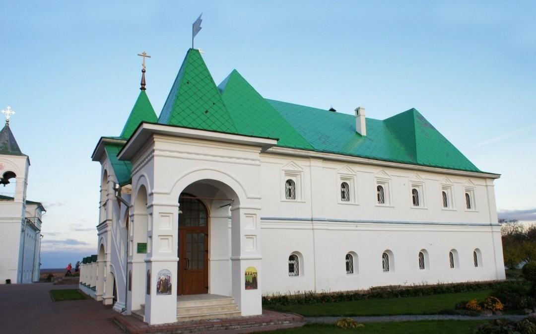 Церковь Василия Рязанского Спасо-Преображенского мужского монастыря в Муроме