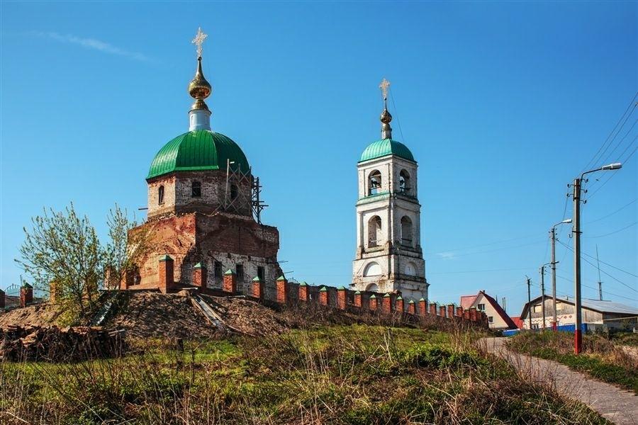 Церковь Троицы Живоначальной в Карачарово