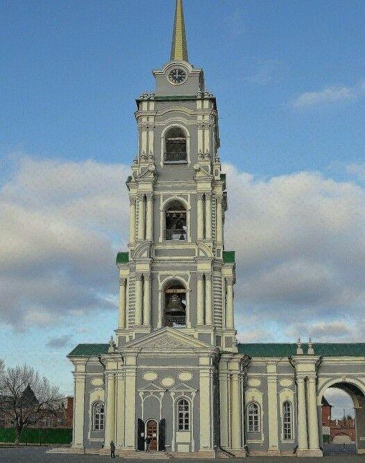 Колокольня Успенского собора в Тульском кремле