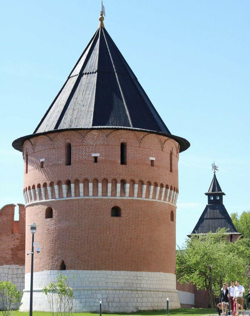 Наугольная башня Тульского Кремля