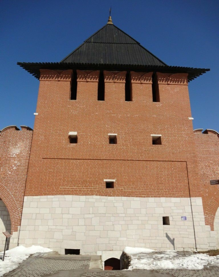 Башня на погребу Тульского Кремля