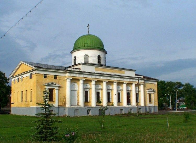 Церковь Преображения Господня в Туле