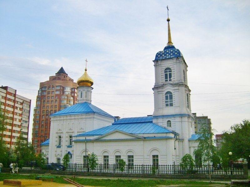 Церковь Николая Чудотворца на Ржавце в Туле