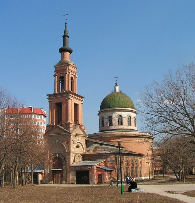 Церковь святых первоверховных апостолов Петра и Павла в Туле