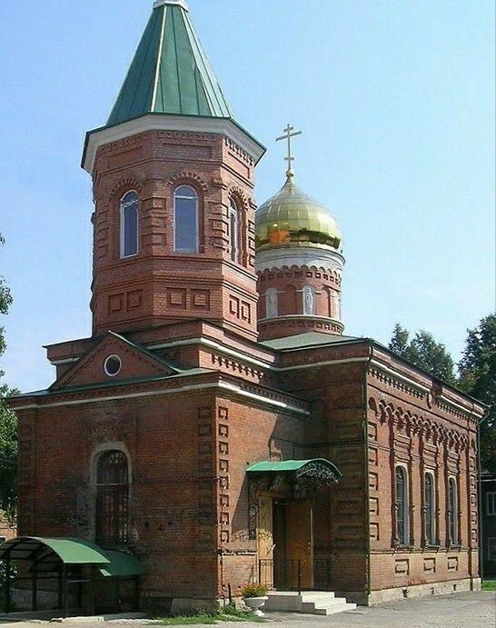 Церковь Серафима Саровского в Туле