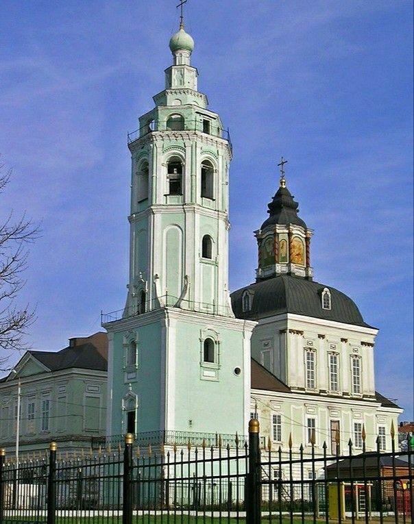 Церковь Николая Чудотворца Зарецкая в Туле