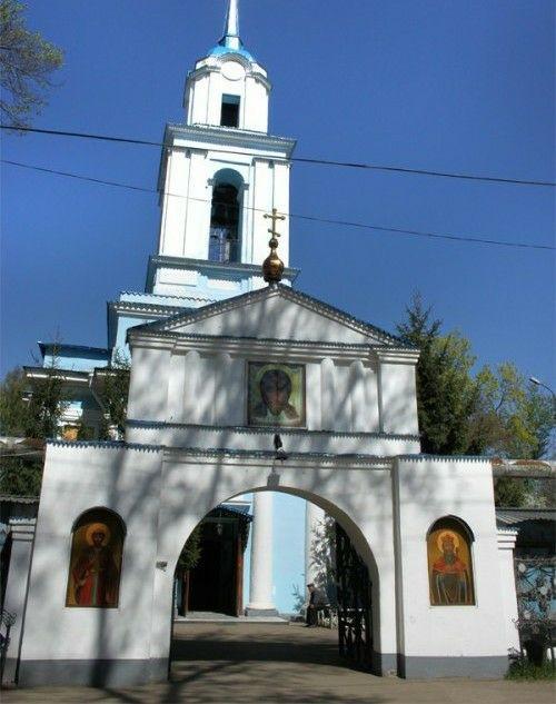 Церковь Преображения Господня в Донском