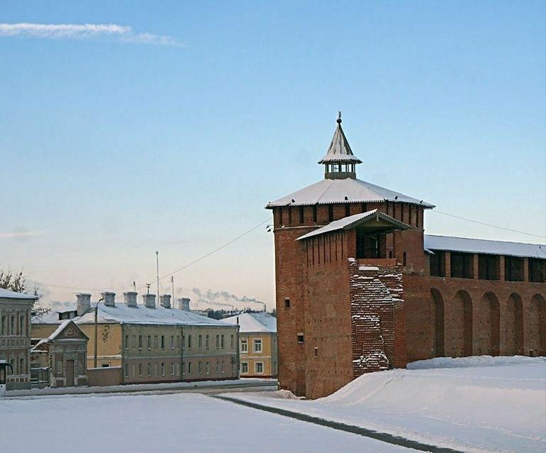 Часовня Параскевы Пятницы в Грановитой башне Коломенского Кремля