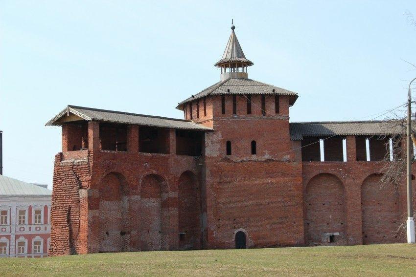 Грановитая башня в Коломенском Кремле