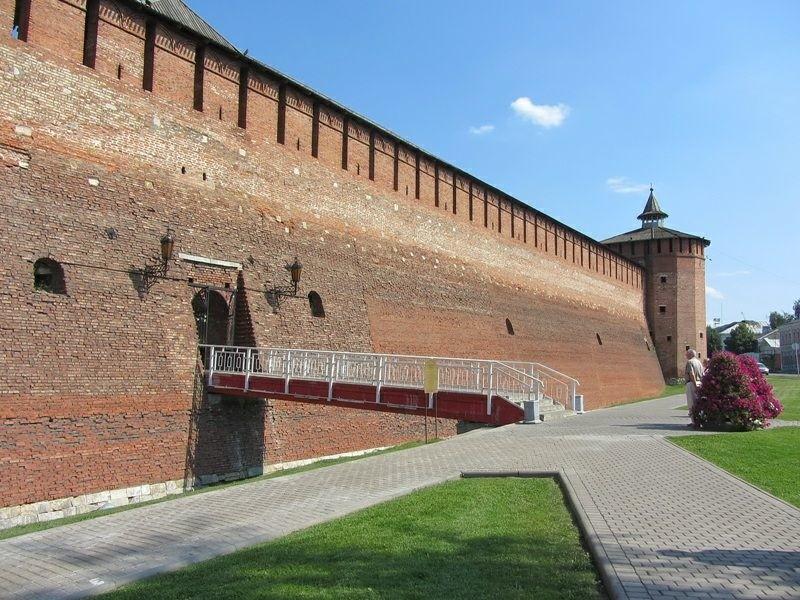 Михайловские ворота в Коломенском Кремле