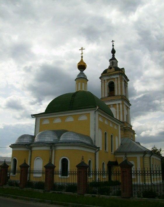 Храм Пресвятой Троицы на Репне в Коломне