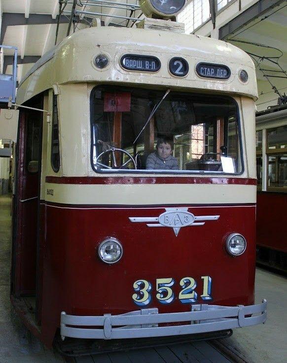 Музей трамвая в Коломне