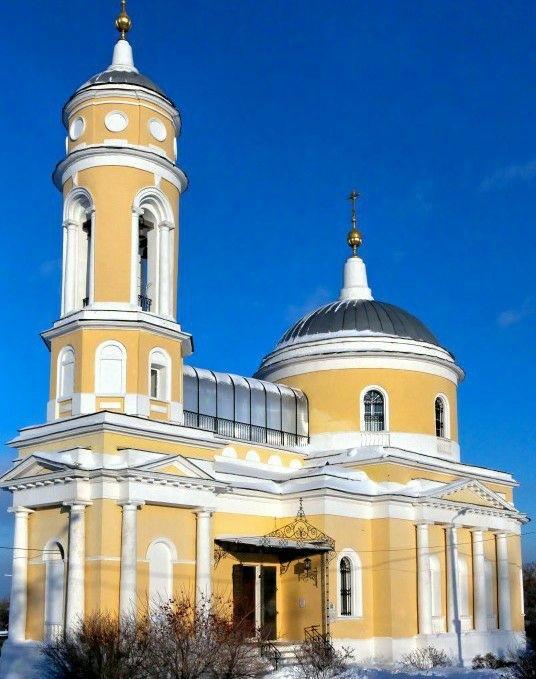 Крестовоздвижеская церковь в Коломенском Кремле