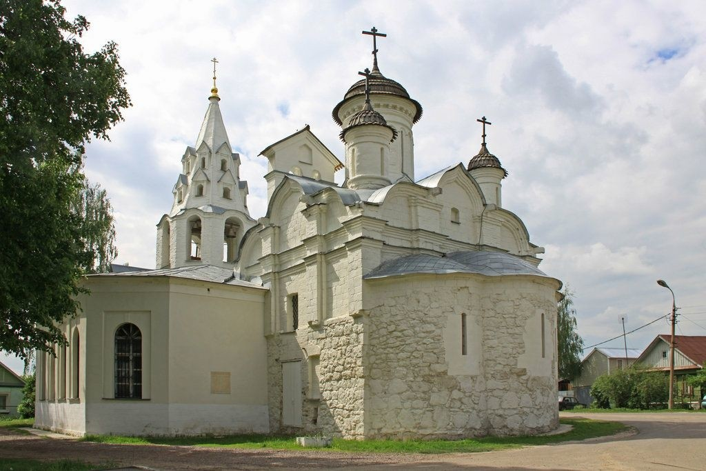 Церковь Зачатия Иоанна Предтечи в Городище в Коломне