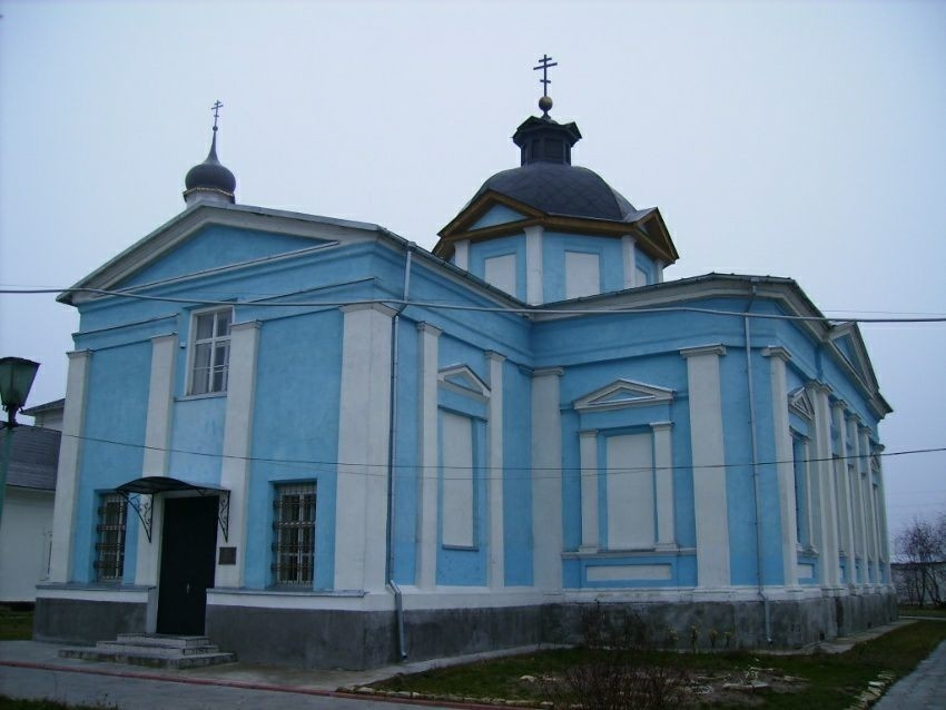 Церковь Фёдоровской Иконы Божией Матери Богородице-рождественского Бобренева мужского монастыря в Коломне