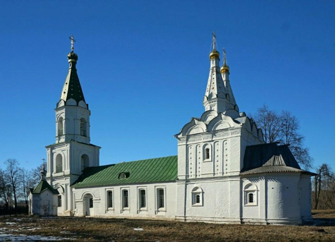 Церковь Сошествия Святого Духа Рязанского Кремля