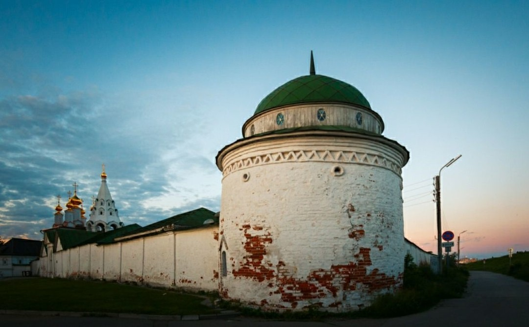 Часовня Пантелеймона Целителя Спасо-Преображенского мужского монастыря в Рязанском Кремле