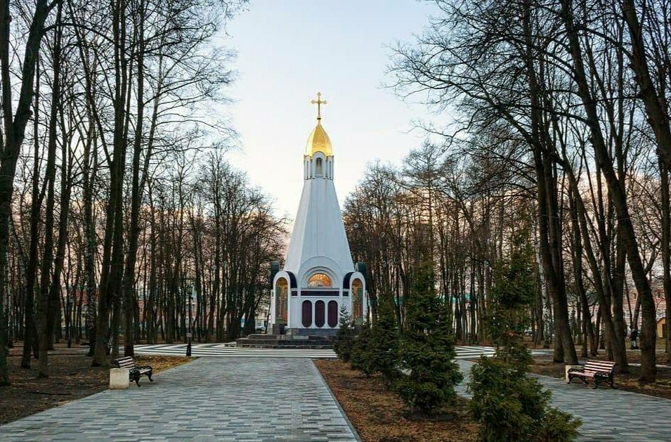 Всехсвятская часовня в Рязани