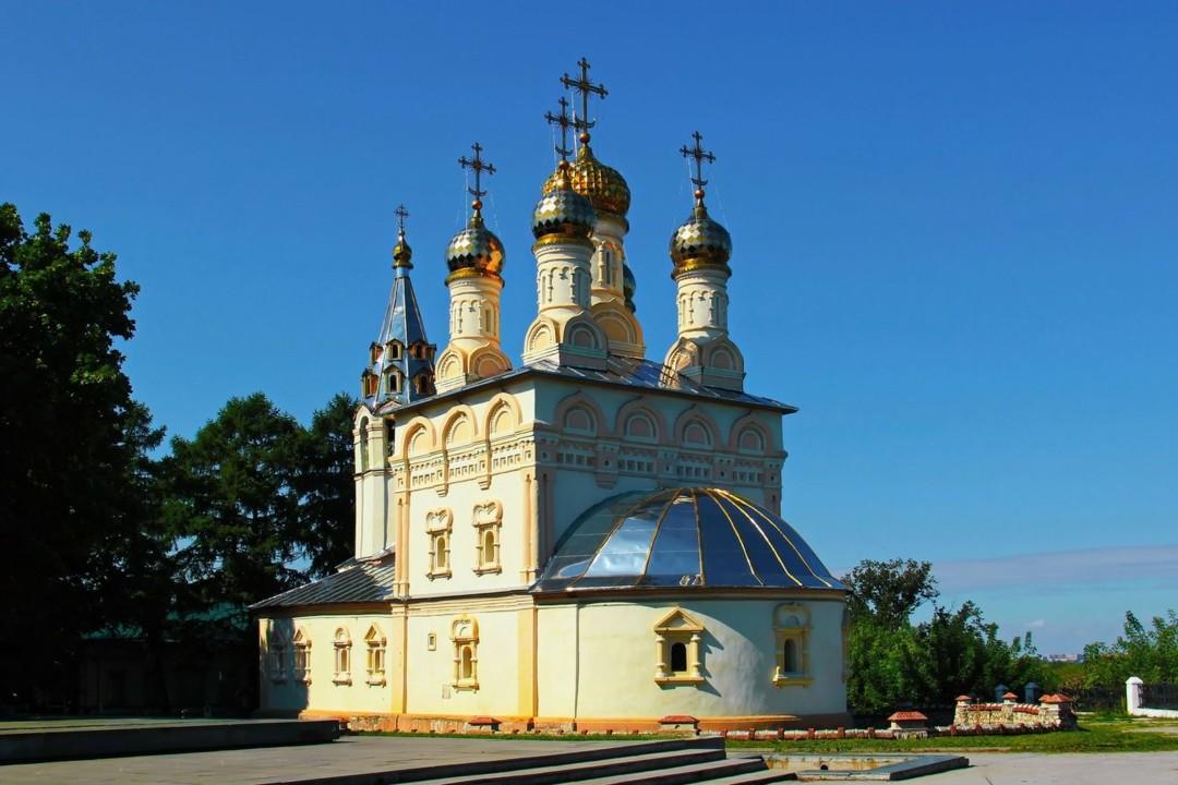 Церковь Спаса Преображения на Яру в Рязани