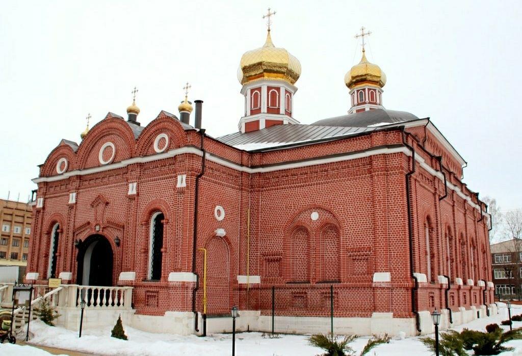 Собор Казанской Иконы Божией Матери Казанского женского монастыря в Рязани