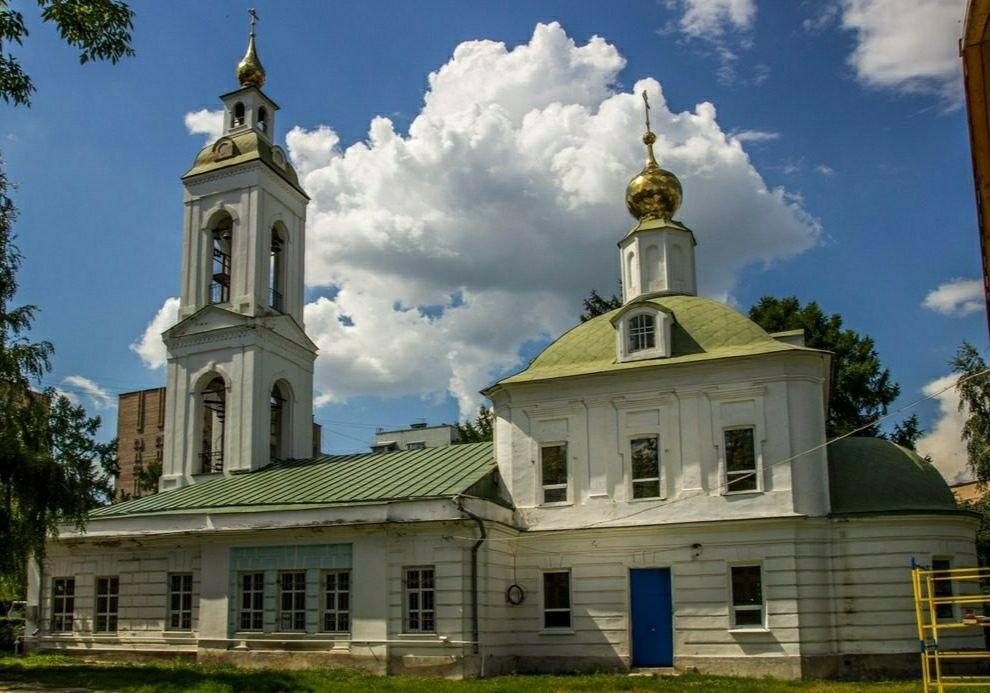 Церковь Вознесения Господня в Рязани