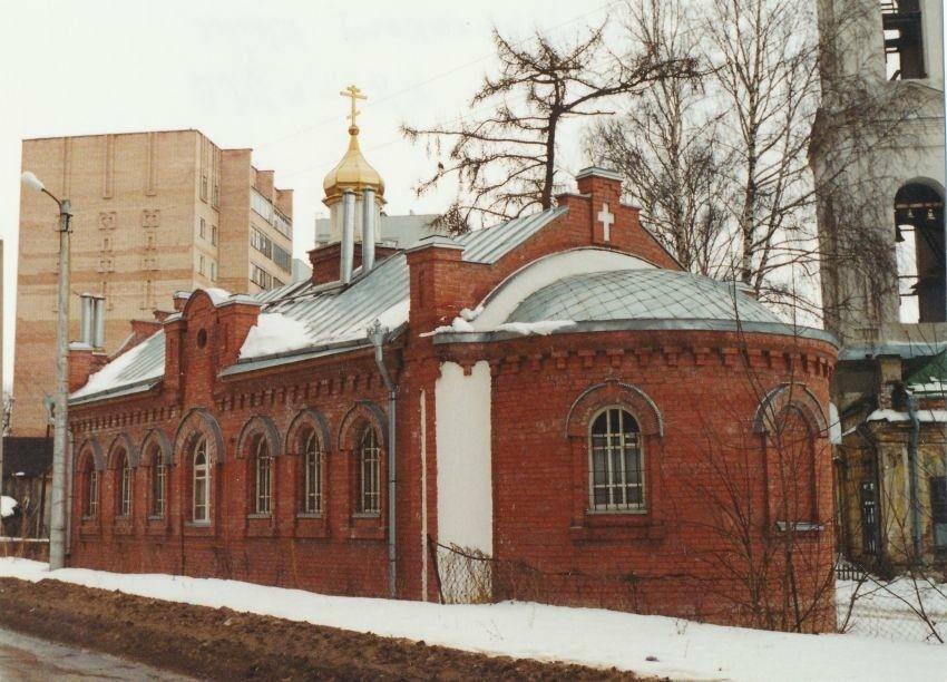 Церковь Космы и Дамиана при Вознесенской церкви в Рязани