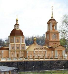 Церковь Николая Чудотворца Дворянская в Рязани