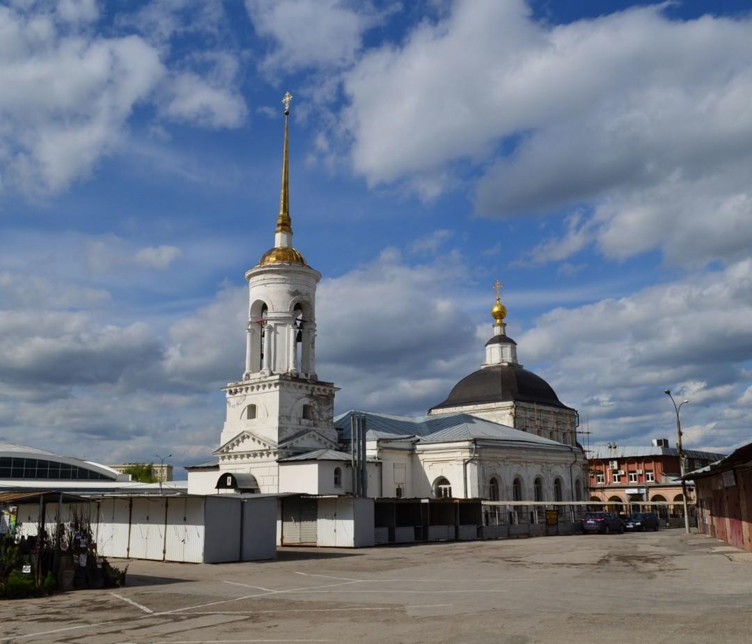 Церковь Екатерины Великомученицы в Рязани