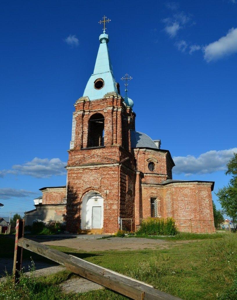Церковь Преображения Господня в Шумаши